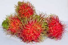 Delicious rambutan. Rambutan is fruit in soth east asia Royalty Free Stock Photos