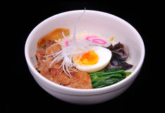 Delicious ramen, japanese soup Royalty Free Stock Images