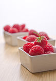 Delicious raspberries Royalty Free Stock Photo