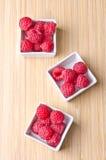 Delicious raspberries Stock Photos