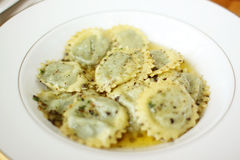 Delicious ravioli Stock Images