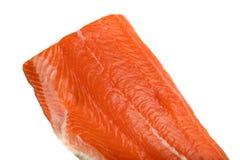 Delicious raw salmon fillet Royalty Free Stock Photos