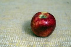 Delicious red apple, background, for clipping in photoshop. Fruit for pribilverary or propaganda use stock images