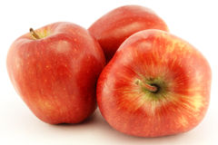Delicious red apples Royalty Free Stock Photo