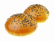 Delicious red bean bun Stock Photography