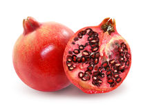 Delicious red garnets Stock Photo