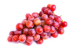 Delicious red grapes Stock Photo