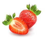 Delicious red strawberries Royalty Free Stock Image