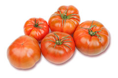 Delicious red tomatoes Stock Photo