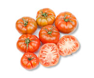 Delicious red tomatoes Stock Image