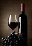 Delicious red wine Stock Photos