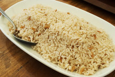 Rice as a Turkish meal Royalty Free Stock Images