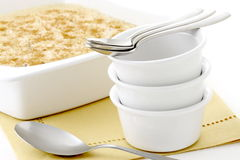Delicious rice pudding Royalty Free Stock Image