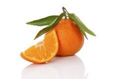 Delicious ripe mandarin Stock Photo