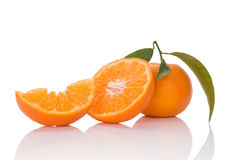 Delicious ripe mandarin Royalty Free Stock Image