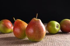 Delicious ripe pears Royalty Free Stock Image