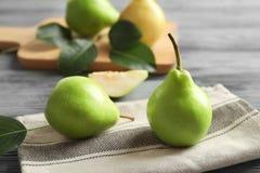 Delicious ripe pears Stock Image