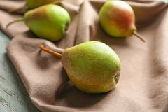 Delicious ripe pears Royalty Free Stock Photos