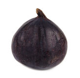 Delicious ripe purple fig Stock Photography