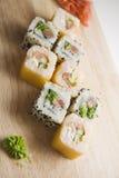 Delicious rolls horizontal Royalty Free Stock Photos