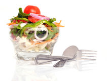 Delicious salad Royalty Free Stock Photo