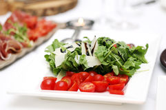 Delicious salad at a banquet Stock Photography
