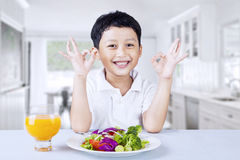 Delicious Salad Royalty Free Stock Photo