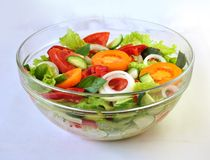 Delicious salad Royalty Free Stock Photography