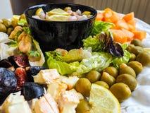 Delicious salad Stock Photos