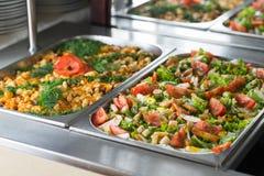 Delicious salads Stock Photo