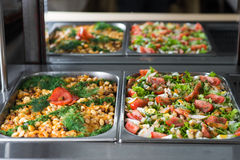 Delicious salads Royalty Free Stock Photo