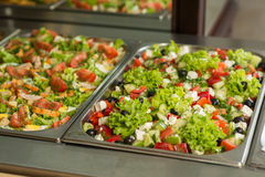 Delicious salads Royalty Free Stock Image