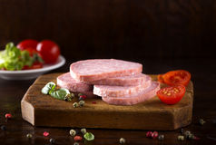 Delicious salami Royalty Free Stock Photography
