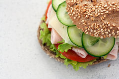 Delicious sandwich Royalty Free Stock Image