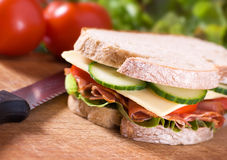 Delicious sandwich Stock Photos