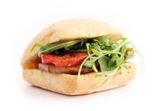Delicious sandwich Royalty Free Stock Images