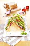 Delicious sandwiches. Stock Photo