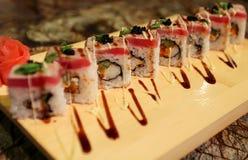 Delicious Sato maki sushi rolls Stock Photo