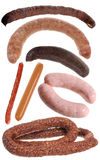 Delicious sausage Stock Photography