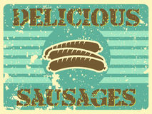 Delicious sausages Royalty Free Stock Photography
