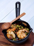 Delicious Seafood Curry Royalty Free Stock Photo