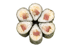 Delicious seafood sushi Royalty Free Stock Photography