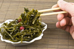 Delicious seaweed Royalty Free Stock Photography