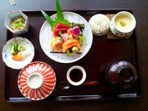 Delicious set. Lunch set from Okura hotel Bangkok Royalty Free Stock Image