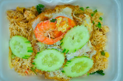 Delicious Shrimp fried rice,Asian fried rice Stock Photography