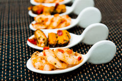 Delicious shrimp Royalty Free Stock Photography