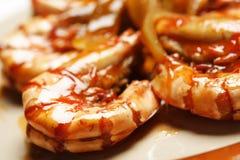 Delicious shrimps Royalty Free Stock Photo