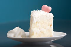 Delicious Slice of Cake Stock Images
