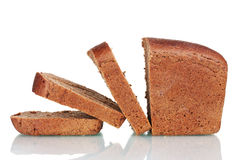 Delicious sliced rye bread Royalty Free Stock Photo