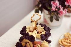 Delicious small cakes Royalty Free Stock Photos